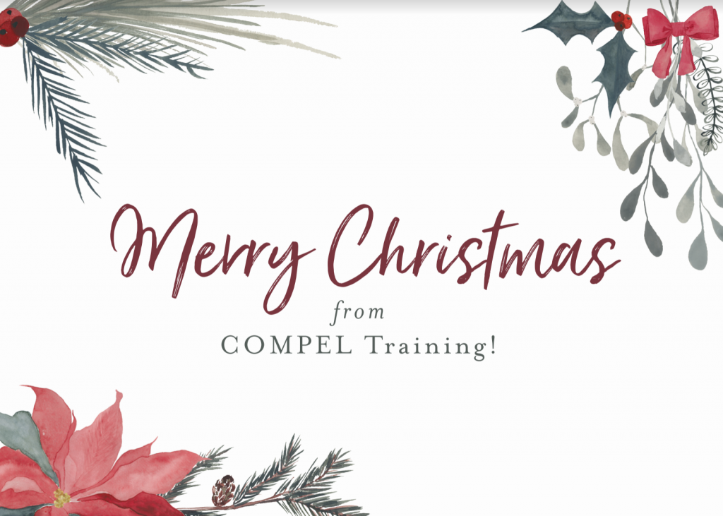 Merry Christmas from COMPEL Training