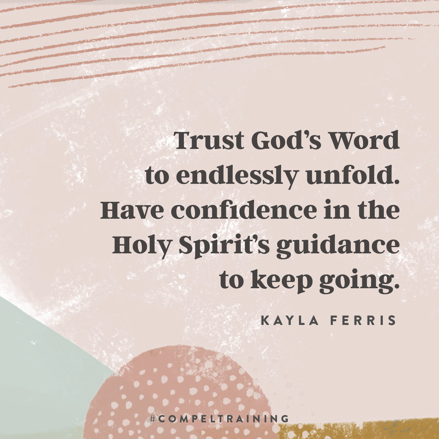 The Unfolding of God's Word with Kayla Ferris