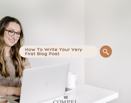 The gentle urging to start a blog has turned into a full-blown reality. After designing a website and deciding who you want your writing to minister to, you are now prepared to share your unique message with readers who are ready to learn and grow in Christ. It is time to write your very first blog post! But where do you begin? Here are a few simple ingredients you need to serve up your first share-worthy blog post!